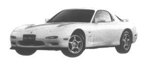 Mazda Efini RX-7 Type R Bathurst 1995 г.