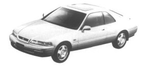 Honda Legend Coupe a Touring 1995 г.