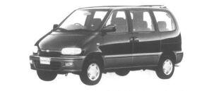 Nissan Serena 2WD FX Rio Gasoline 2000 1995 г.
