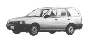 Nissan AD VAN (4DOOR) 1300DX 1995 г.