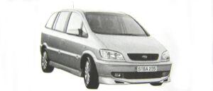 Subaru Traviq S-package 2002 г.