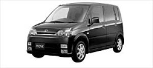 Daihatsu Move CUSTOM X 2WD 2002 г.