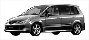 Mazda Premacy SPORT 7-SEATERS 2000 DOHC, FF 2002 г.