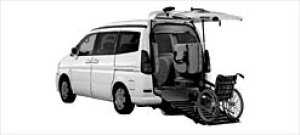 Nissan Serena ChairCab Slope-typeHighRoof V-G 2WD 2000 2002 г.