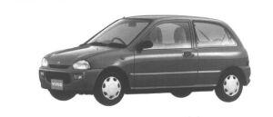 Subaru Vivio 3 DOORS SEDAN em 1994 г.