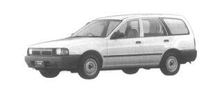 Subaru Leone VAN 1.5L 2WD 1994 г.