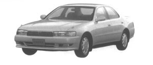 Toyota Cresta 2.5 SUPER LUCENT G 1994 г.
