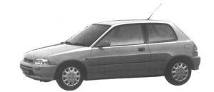 Daihatsu Charade TR 1500 1994 г.