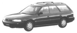 Subaru Legacy 4WD TOURING WAGON LX 1994 г.
