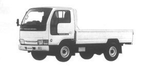 Nissan Diesel Condor 20 STANDARD, LOW FLOOR 1994 г.