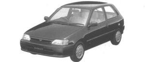 Toyota Starlet 3 DOORS L 1994 г.