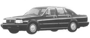 Nissan Cedric 4 DOORS SEDAN V30E VIP 1994 г.
