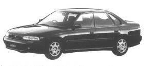 Subaru Legacy 4WD TOURING SPORT 250T 1994 г.