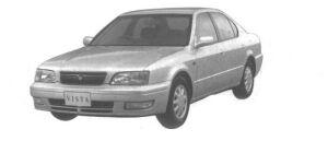 Toyota Vista SEDAN 2000aX 1994 г.