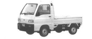 Subaru Sambar Truck STANDARD ROOF SDX  SUPER CHARGER 1994 г.