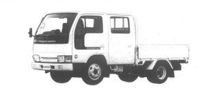Nissan Diesel Condor 20 DOUBLE CAB, STANDARD, SUPER LOW 1994 г.