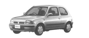 Nissan March 3 DOORS 1300A# 1994 г.