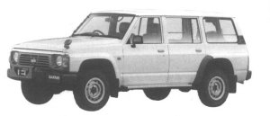 Nissan Safari VAN EXTRA DX 1994 г.