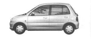Mitsubishi Minica 5 DOORS PX (4A/T) 1994 г.