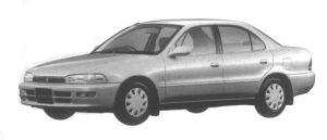 Toyota Sprinter SEDAN 1300LX-LIMTED 1994 г.