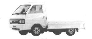 Nissan Vanette Truck 2WD SUPER LOW DX 1994 г.