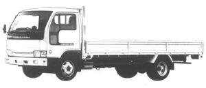 Nissan Diesel Condor 30 WIDE, SUPER LONG, FULL SUPER LOW 1994 г.