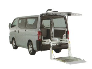 Nissan NV350 Caravan Van with Lifter 2018 г.