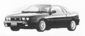 Isuzu Piazza NERO 181XE/S 1991 г.