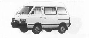 Subaru Domingo 1.2L CF 1991 г.
