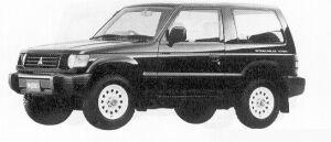 Mitsubishi Pajero METAL TOP XL VAN 1991 г.