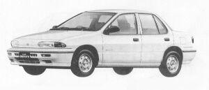 Isuzu Gemini SEDAN 1700 TURBO DIESEL T/T 1991 г.