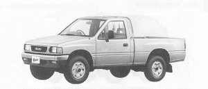 Isuzu Rodeo 4WD SUPER SINGLE CAB 1991 г.
