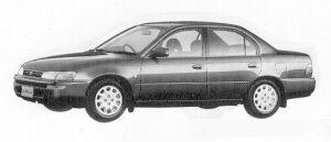 Toyota Corolla SEDAN 1600SE-G 1991 г.