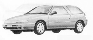 Isuzu Gemini HATCH BACK 1500 SOHC  OZ 1991 г.