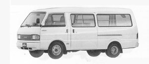 Mazda Bongo BRAWNY VAN WIDE&LOW LONG BODY 2000DX 1991 г.