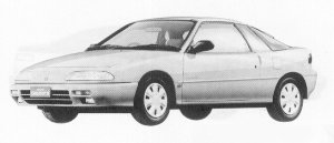 Isuzu Gemini COUPE 1600DOHC OZ 1991 г.