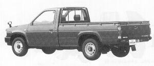 Nissan Datsun 2WD LONG BODY 2300 DIESEL GL 1991 г.