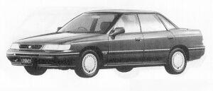 Subaru Legacy 4WD 4DOOR SEDAN 1.8L TI 1991 г.