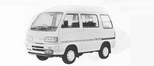 Daihatsu Atrai CRUISE TURBO 4WD 1991 г.