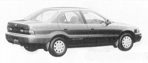 Toyota Sprinter SEDAN 2000DIESEL FULL TIME 4WD XE 1991 г.