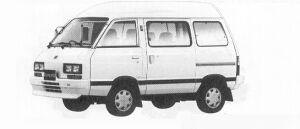 Subaru Domingo 1.2L CS 1991 г.