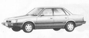 Subaru Leone 4WD 4DOOR SEDAN 1.6L MAYA 1991 г.