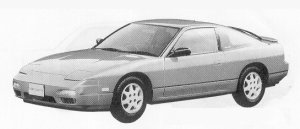 Nissan 180SX TYPE II SPECIAL SELECTION 1991 г.