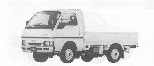 Isuzu Fargo Truck 4WD LT 1991 г.