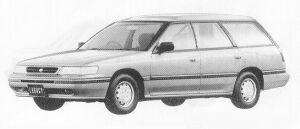 Subaru Legacy 4WD TOURING WAGON 1.8L MI 1991 г.