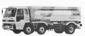 Isuzu 810 CXG TANK LORRY 280PS INTERCOOLER 1991 г.