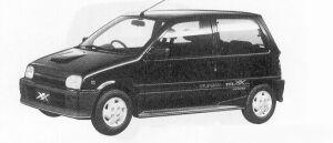 Daihatsu Mira TURBO TR-XX EFI 4WS 1991 г.