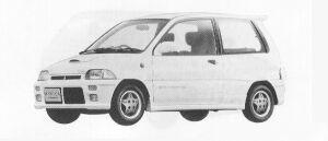 Mitsubishi Minica DANGAN ZZ 1991 г.