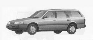 Mazda Capella CARGO 1600 GL 1991 г.