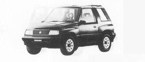 Suzuki Escudo RESIN TOP 1991 г.